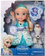 Snow Glow Elsa doll box